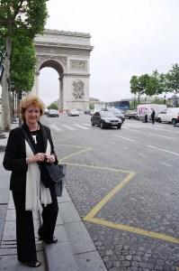 En los Campos Elíseos (París), 16 julio 2004.