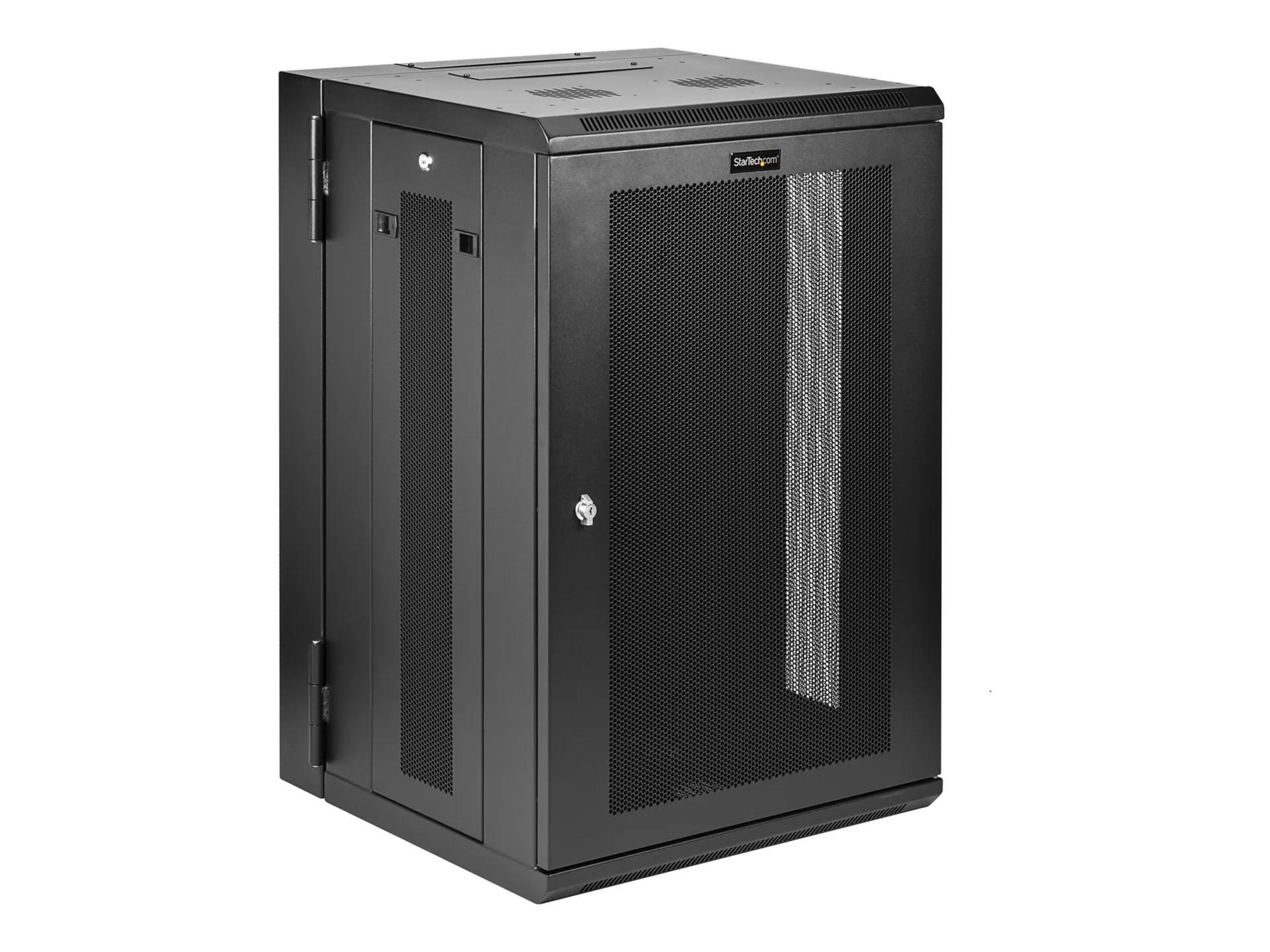 Startechcom 18u Wall Mount Server Rack Cabinet 20 In