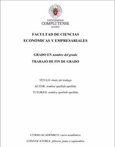 BUCM  Economía Complutense  Biblioteca Complutense
