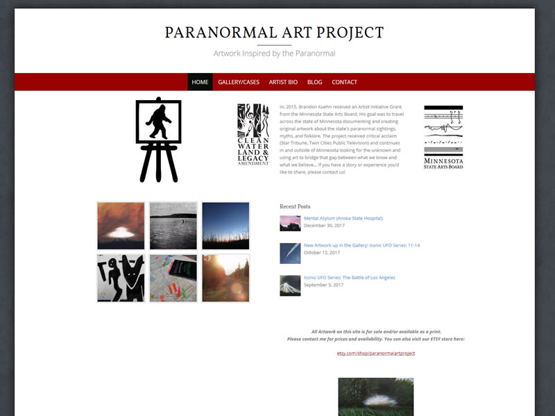 Paranormal Art Project