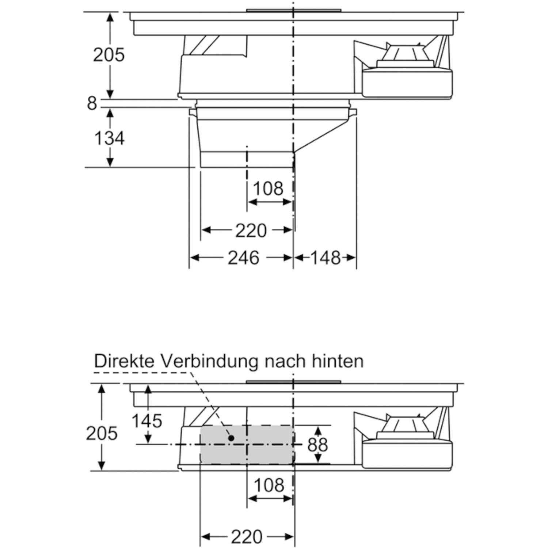 Downdraft Dunstabzug Test Kochfeld Mit Integriertem Dunstabzug