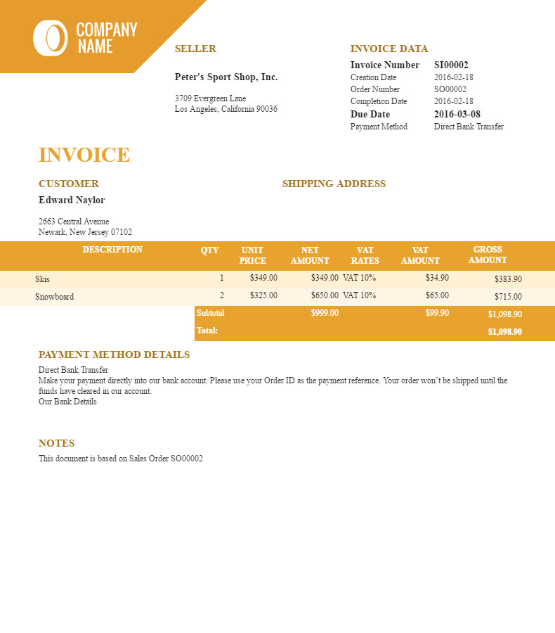 Filogy Invoice - Invoice Software for WooCommerce Filogy - Finance