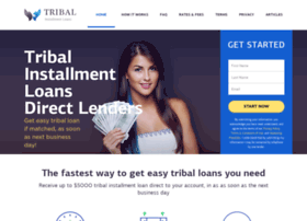 tribalinstallmentloans.com at WI. Tribal Installment Loans Online