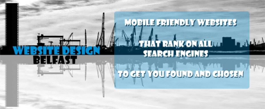 website design Belfast - web design banner - home