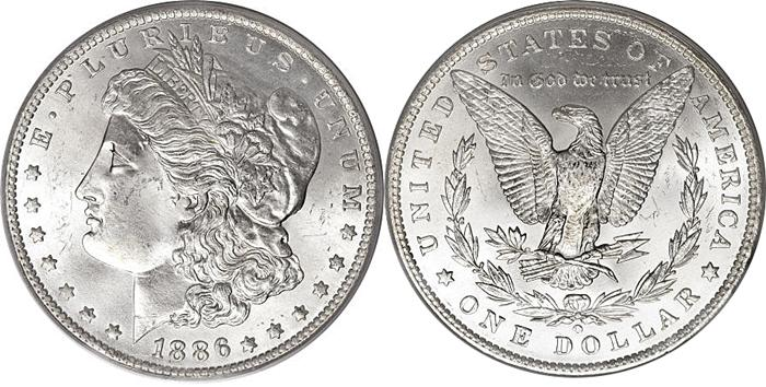 Most Valuable Morgan Silver Dollars 1878-1921 US Coin Values