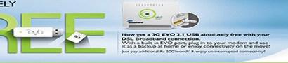 PTCL EVO DSL Broadband USB Package