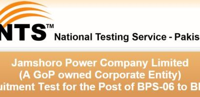 WAPDA NTS Jobs 2015 Jamshoro Power Company (GENCO)