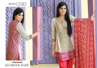 Satrangi Cambric exclusive eid ul Azha Lawn Collection 2015 By Bonanza