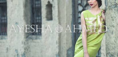 Ayesha Ahmed Formal Silk Dresses 2016 For Women
