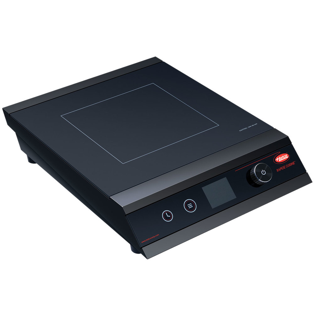 Cuisine Induction Hatco Irng Pc1 18 Rapide Cuisine Black Countertop Induction Range Cooker 120v 1800w
