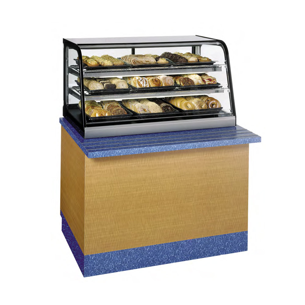 Countertop Food Display Case Federal Cd4828ss Signature Series Black 47