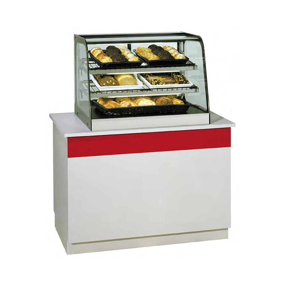 Countertop Food Display Case Federal Cd3628 Signature Series Black 35