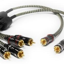 CQ107 Bi-Amp splitter cables