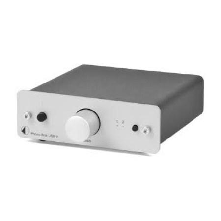 Phono box usb Silver
