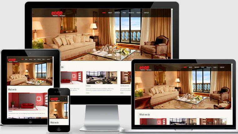 Interior Design Website Template Free Download WebThemez - interior design web template