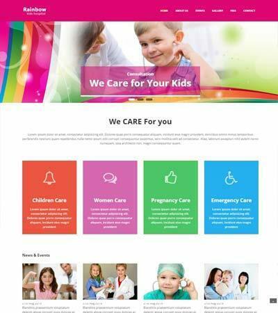 Best Free Medical Hospital Website Templates 2019 - WebThemez