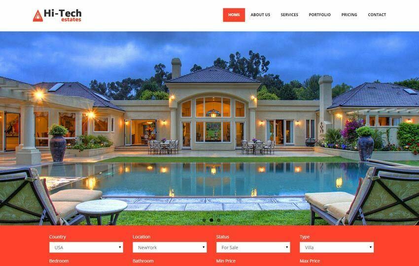 real estate free templates - Roho4senses