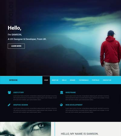Professional Resume Templates Free Download 2019 - WebThemez