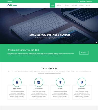 Free Simple Website Templates and Bootstrap Themes - WebThemez