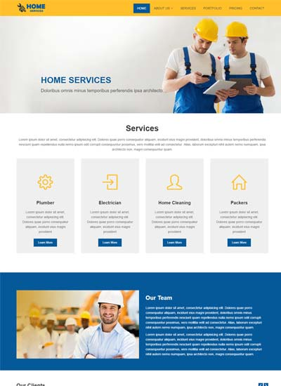 html css bootstrap template free cv portfolio
