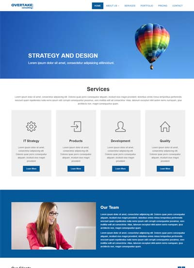 Free Agency Website Templates Built on HTML5/CSS3 WebThemez - template