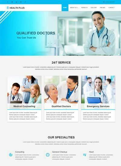 Best Dental Clinic Website Templates Free Download 2019 - WebThemez
