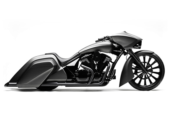 img honda slammer bagger1 30 Beautifully Designed Motorcycles