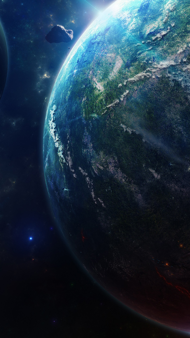 Earth Animated Wallpaper Wallpaper High Resolution Iphone 5 Wallpapers