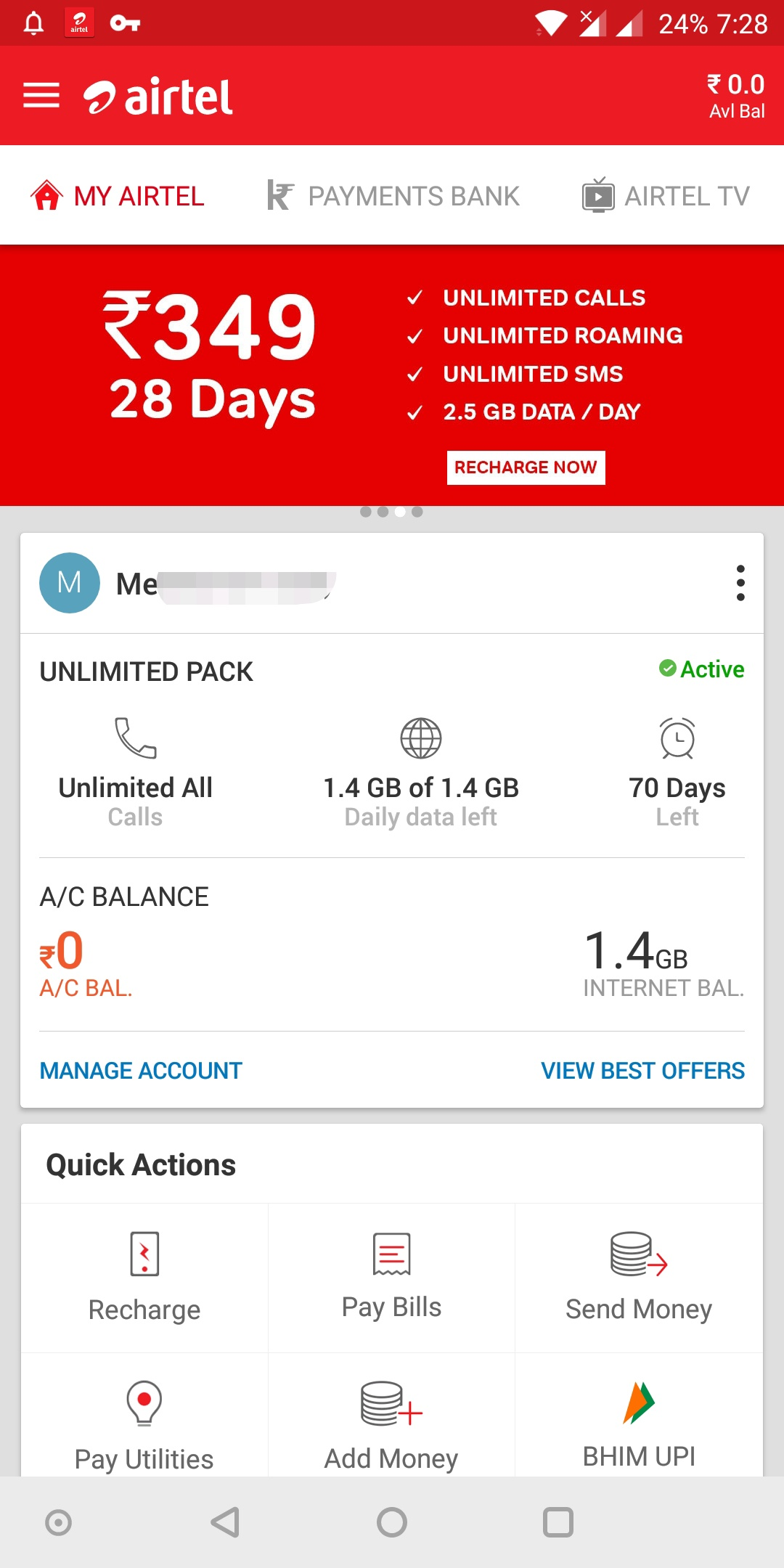 Airtel Plan How To Check Airtel 3g Data Balance And Validity
