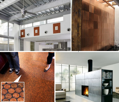 Spaces That Shine Steel  Copper in Interior Design Urbanist - interiors design