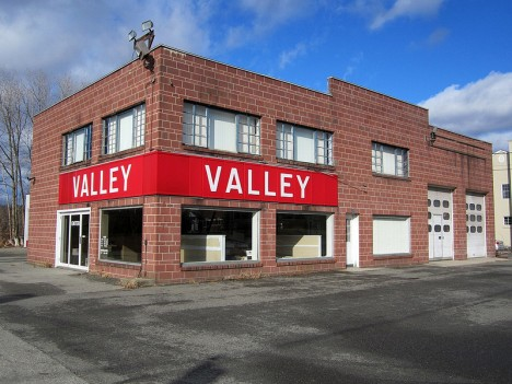 abandoned Valley Dodge dealership 2012