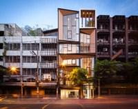 Facade Lift: Abandoned Commercial Building Reborn as Mixed ...