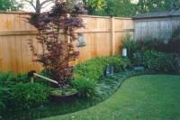 Backyard Oasis of Tranquility | Backyard Fence Line ...