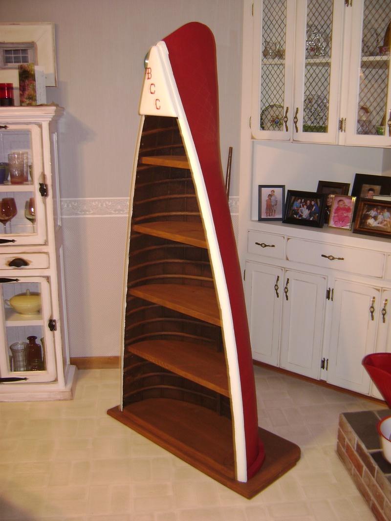 36p Canoe Bookcase Ruff Stuff Woodworking