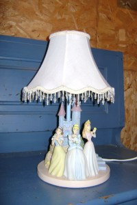 Disney Princess Lamp - The Children's Closet Sale