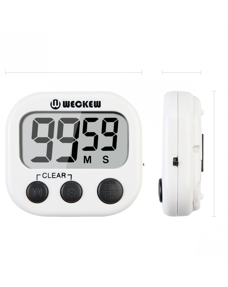 Alarm Timer Weckew Digital Kitchen Timer Cooking Timer Large Display