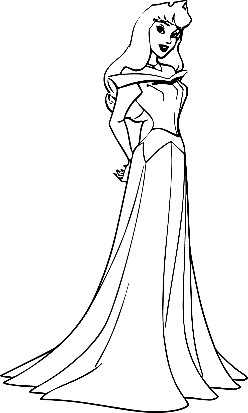 Free coloring pages aurora - Disney Princess Coloring Pages Aurora