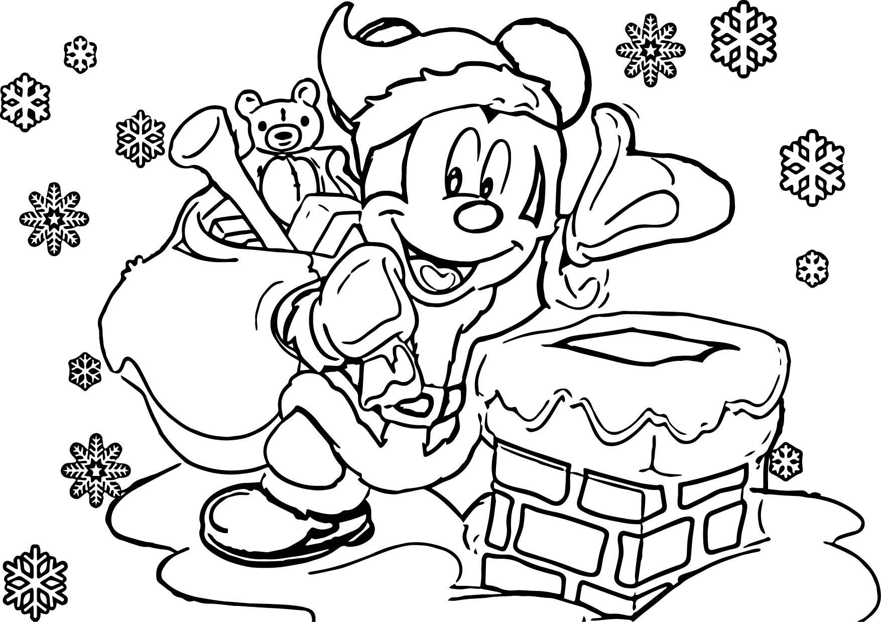 Disney coloring pages spiderman -  Disney Christmas Coloring Pages Download