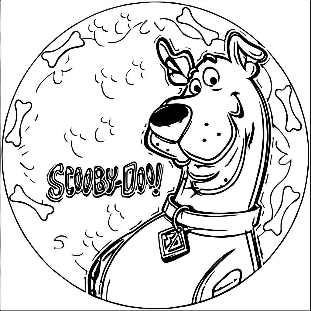 Cute Toddlers Playing Cartoon Wallpaper Scooby Doo Coloring Pages Wecoloringpage Com