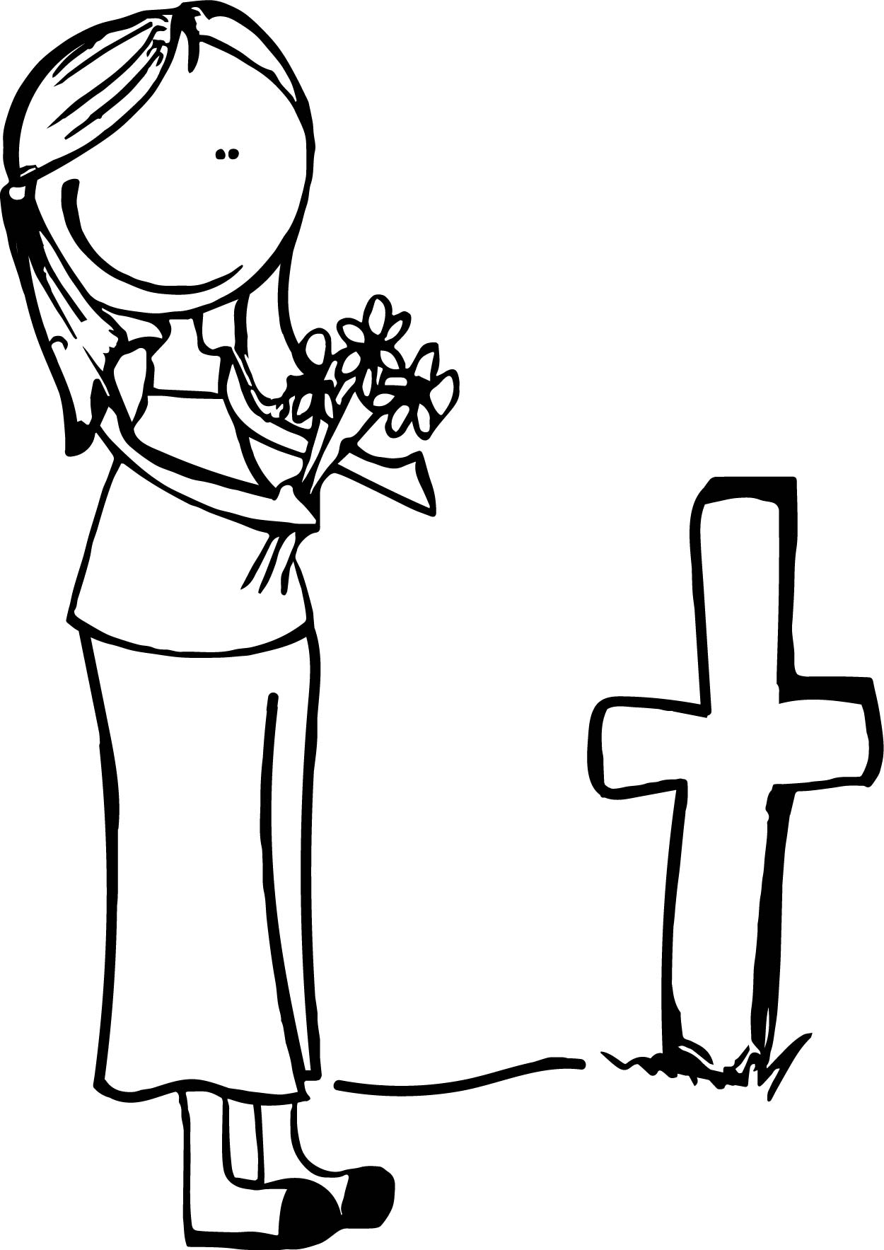 All Souls Day Coloring Pages - Democraciaejustica