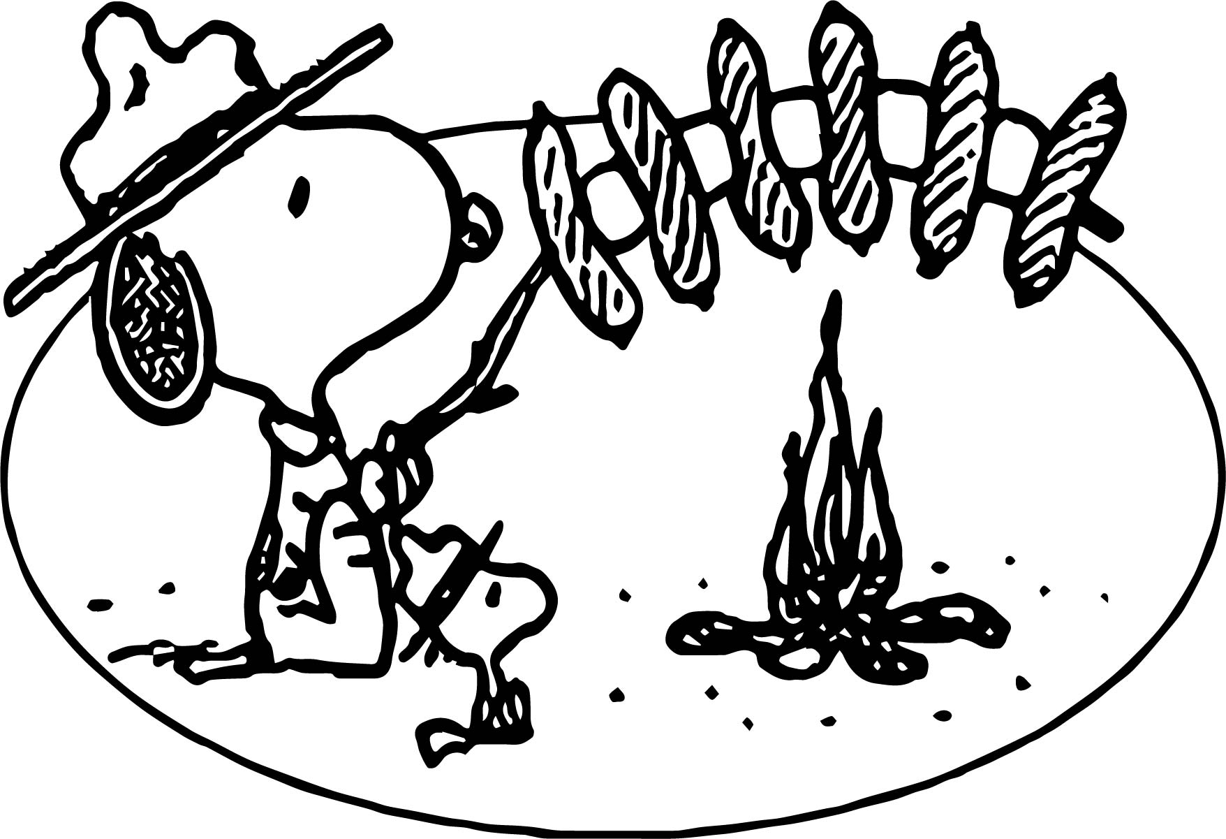 Camp Coloring Pages - Costumepartyrun