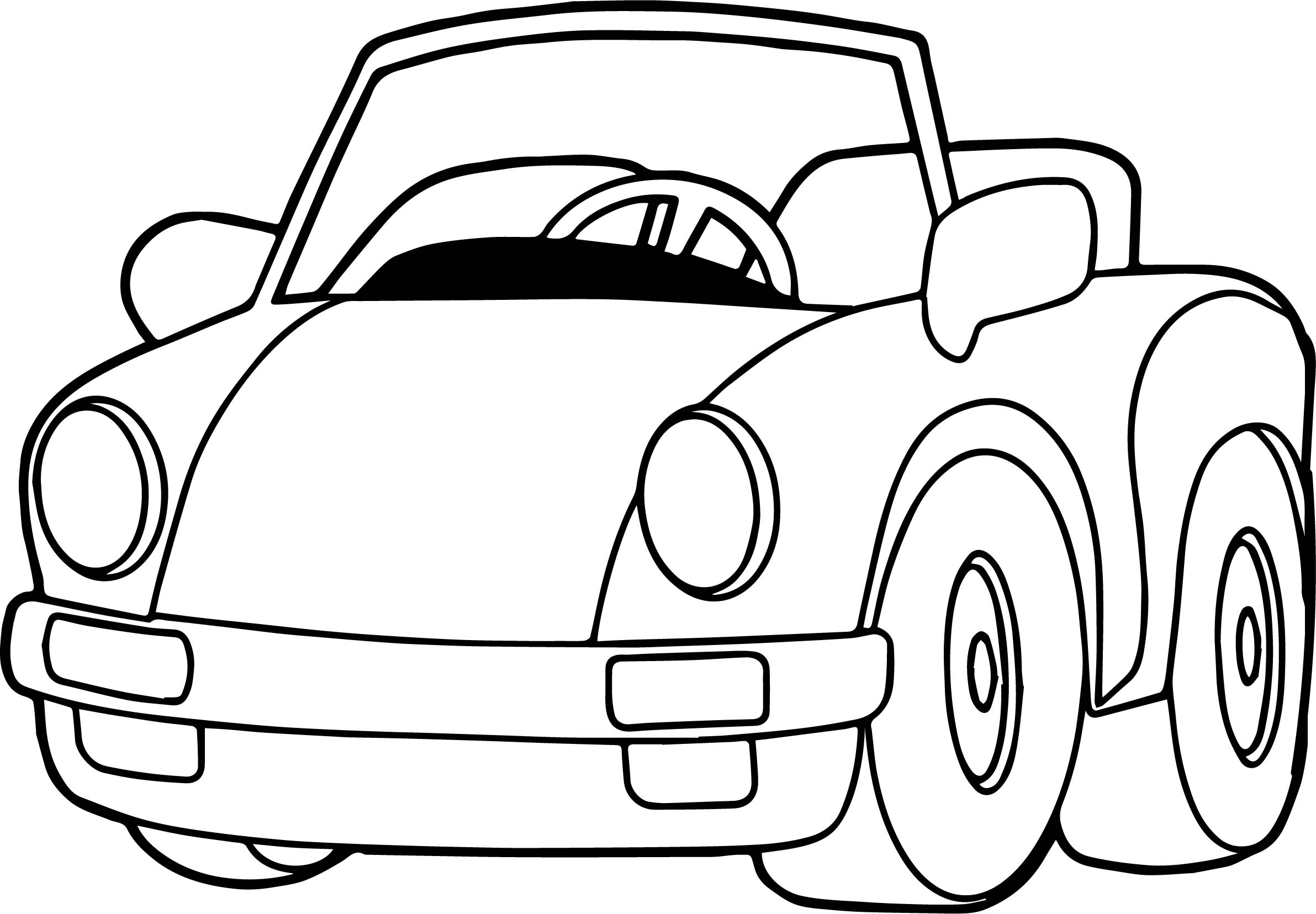 Beetle Coloring Page Auto Electrical Wiring Diagram Connectors Ford Harness Wpt727 Speed Toy Car