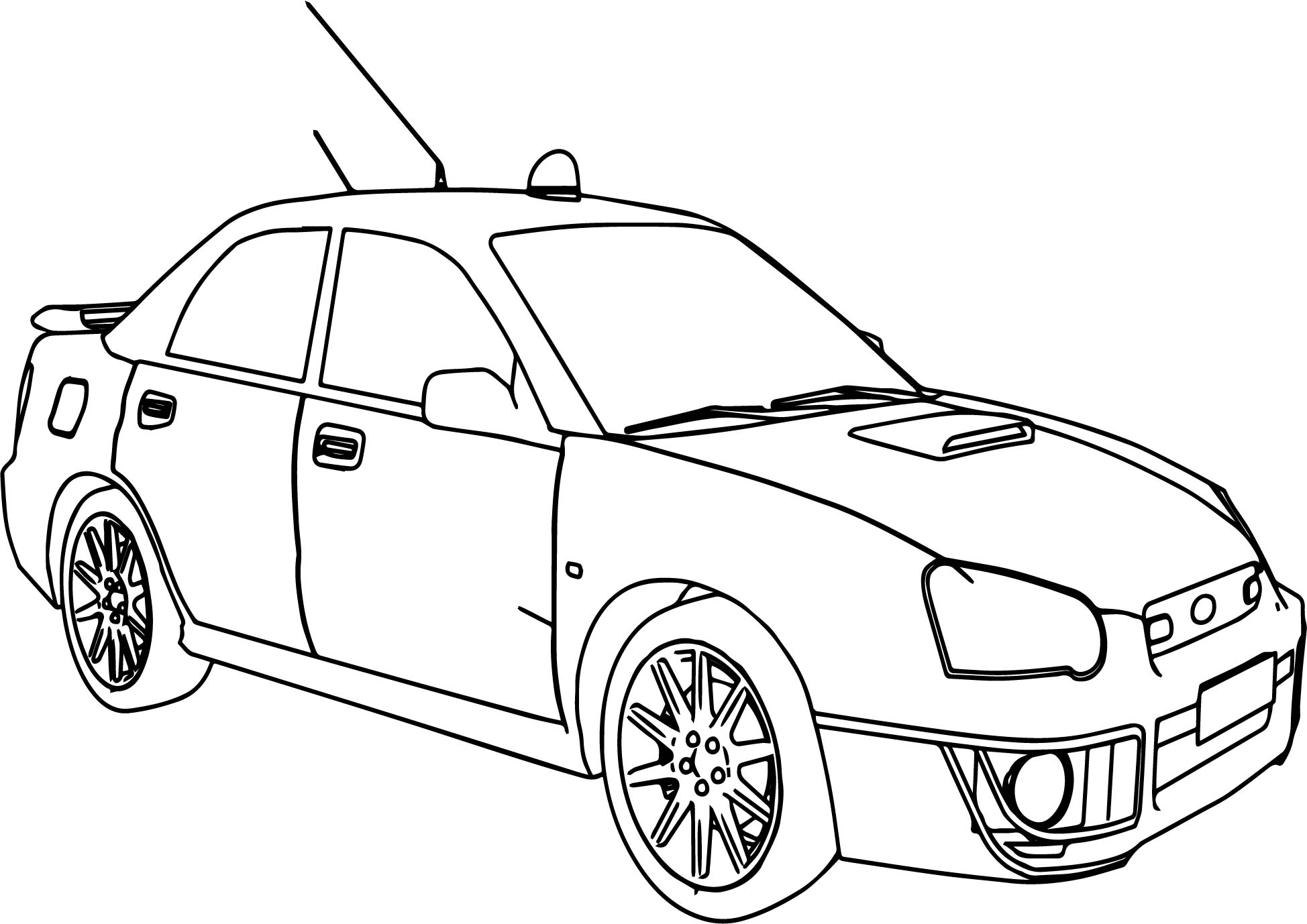 Rally Car Coloring Pages - Eskayalitim