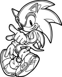 Sonic Dash Coloring Pages 14 Printable Pictures Of Sonic The