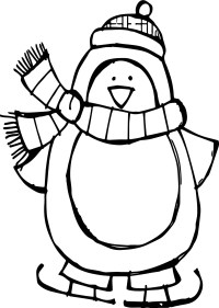 Fun Loving Penguin Coloring Pages - Penguin Coloring Pages ...