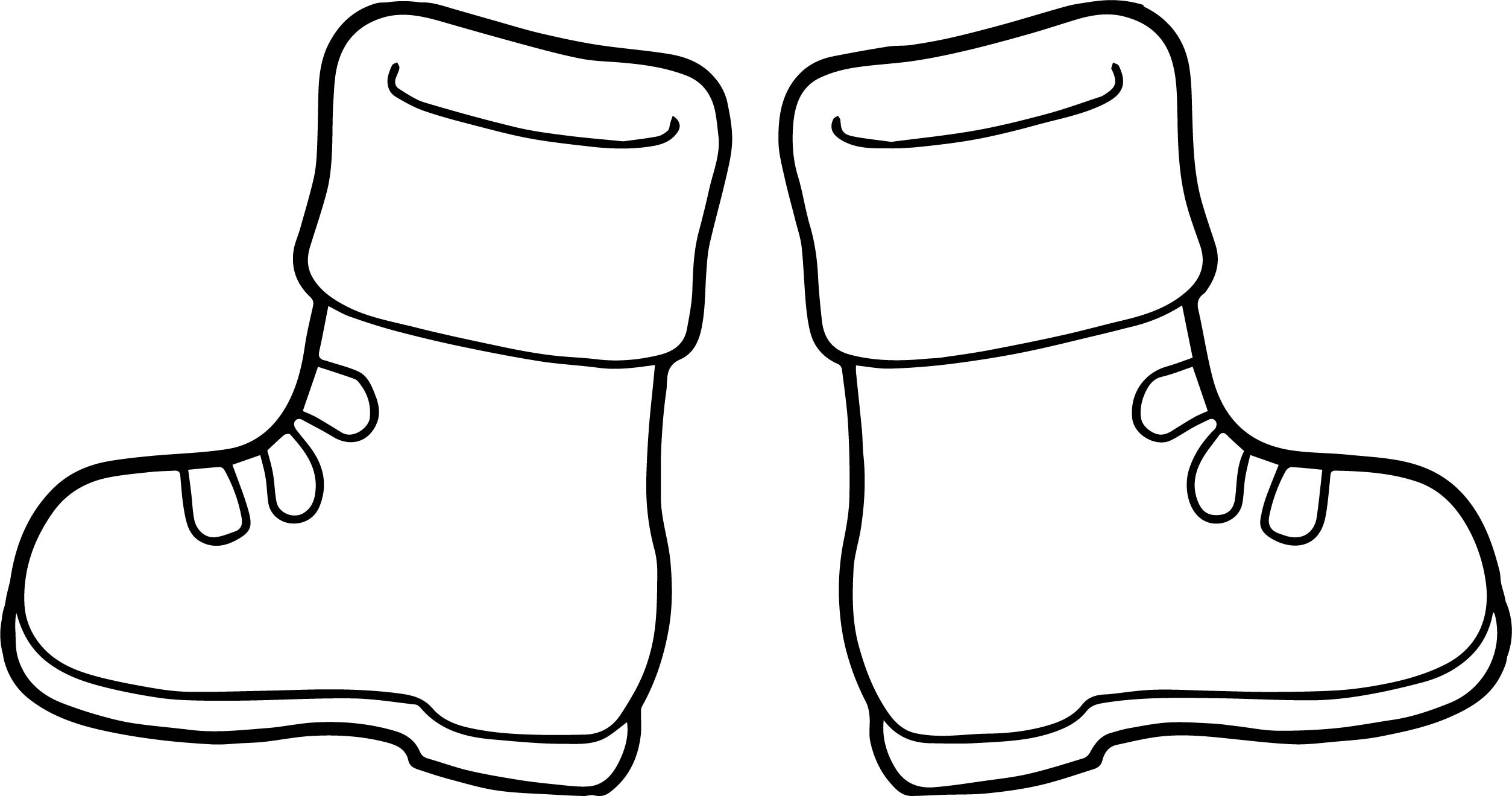 Boots Coloring Page - Costumepartyrun