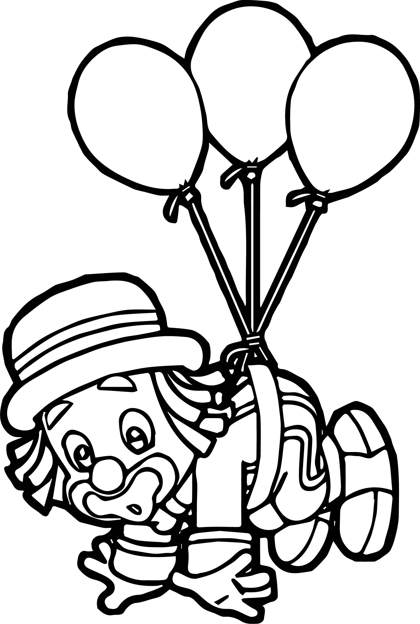 Free Coloring Pages Circus Clowns - Auto Electrical Wiring Diagram