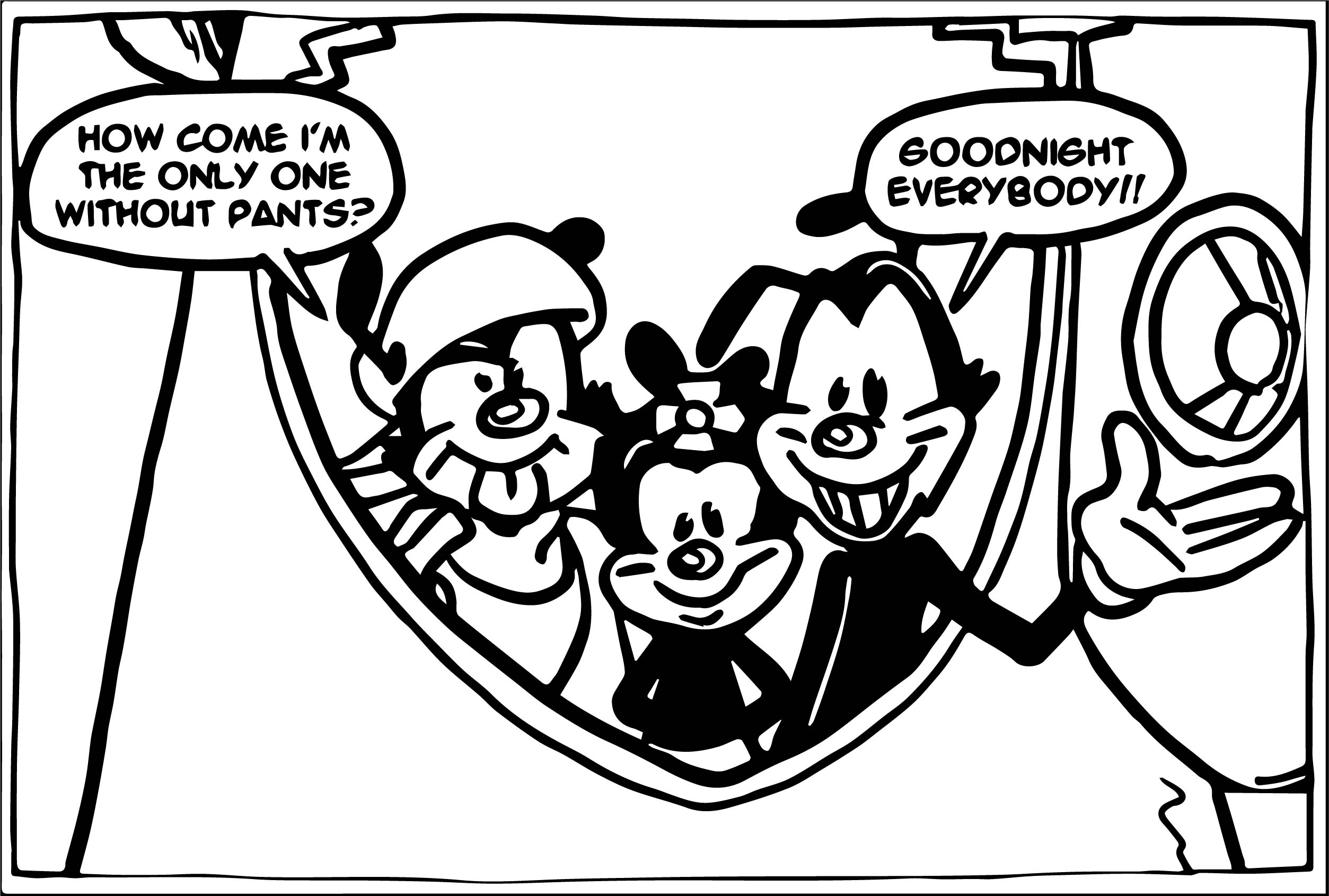Animaniacs Coloring Pages - Costumepartyrun