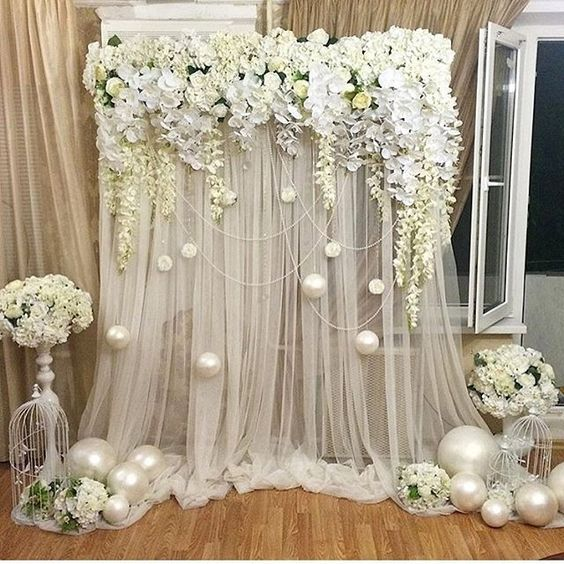 Cortinas Pvc 18 Stunning Floral Backdrop Ideas - Wedding Philippines