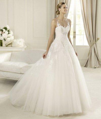 Romantic 2013 Wedding Dresses from the Pronovias Glamour ...